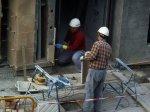 budowlańcy przy pracy